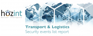 Transport & Logistic: Security events list report