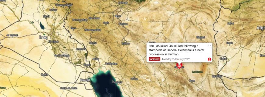 Iran | 35 killed following stampede at Soleimani's funeral in Kerman